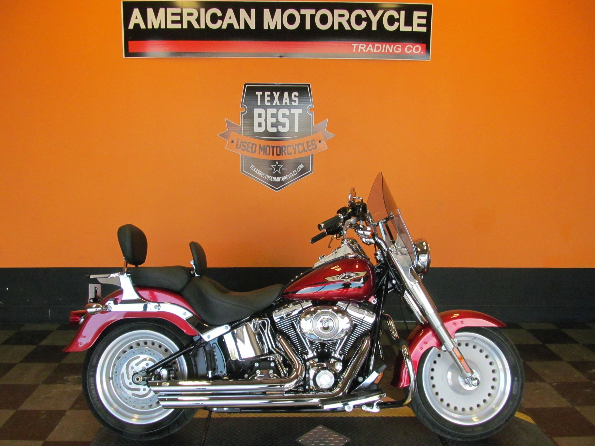 2008 harley davidson softail fat boy flstf