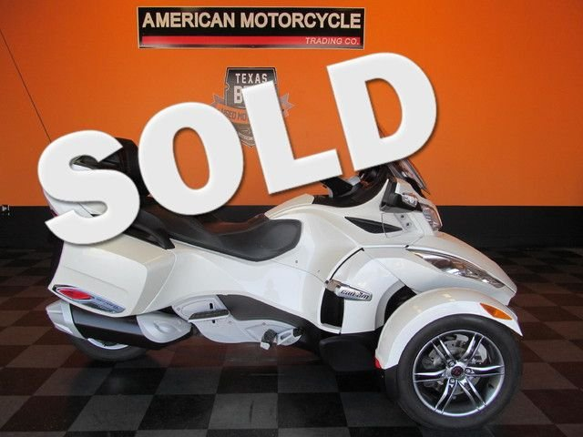 2011 can am spyder rt se5 limited