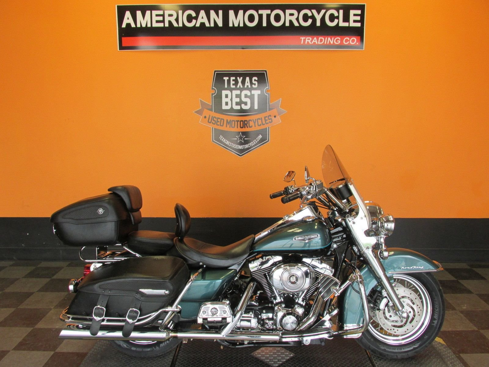 2002 harley davidson road king classic flhrci