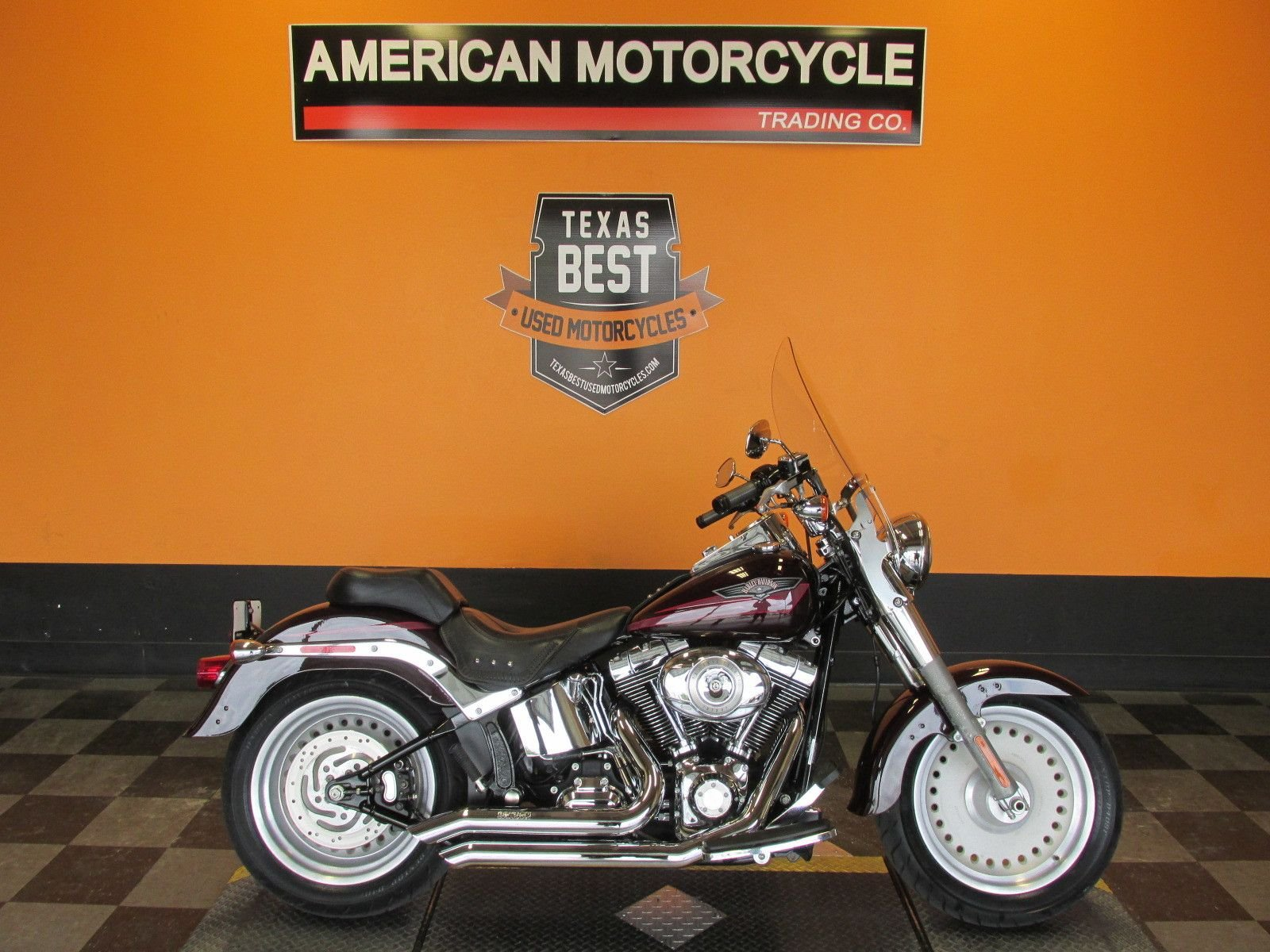 2007 harley davidson softail fat boy flstf