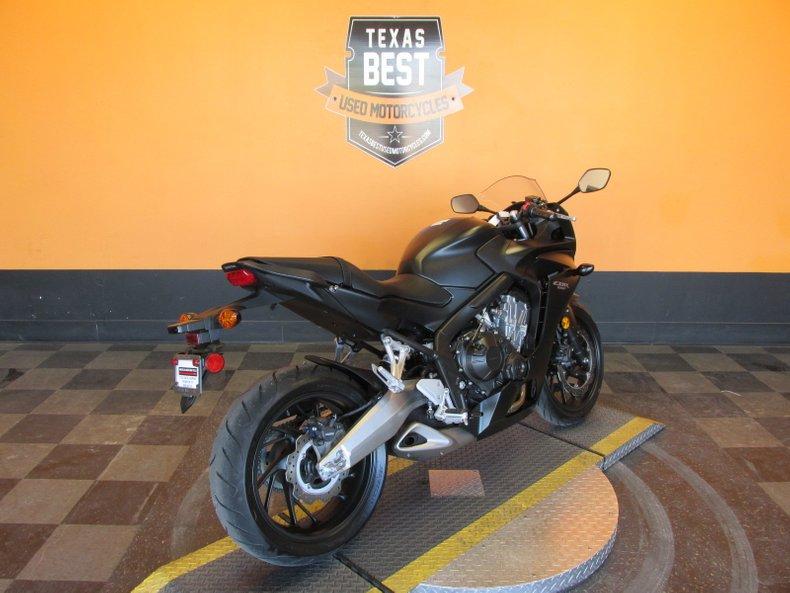 2016 Honda CBR650F