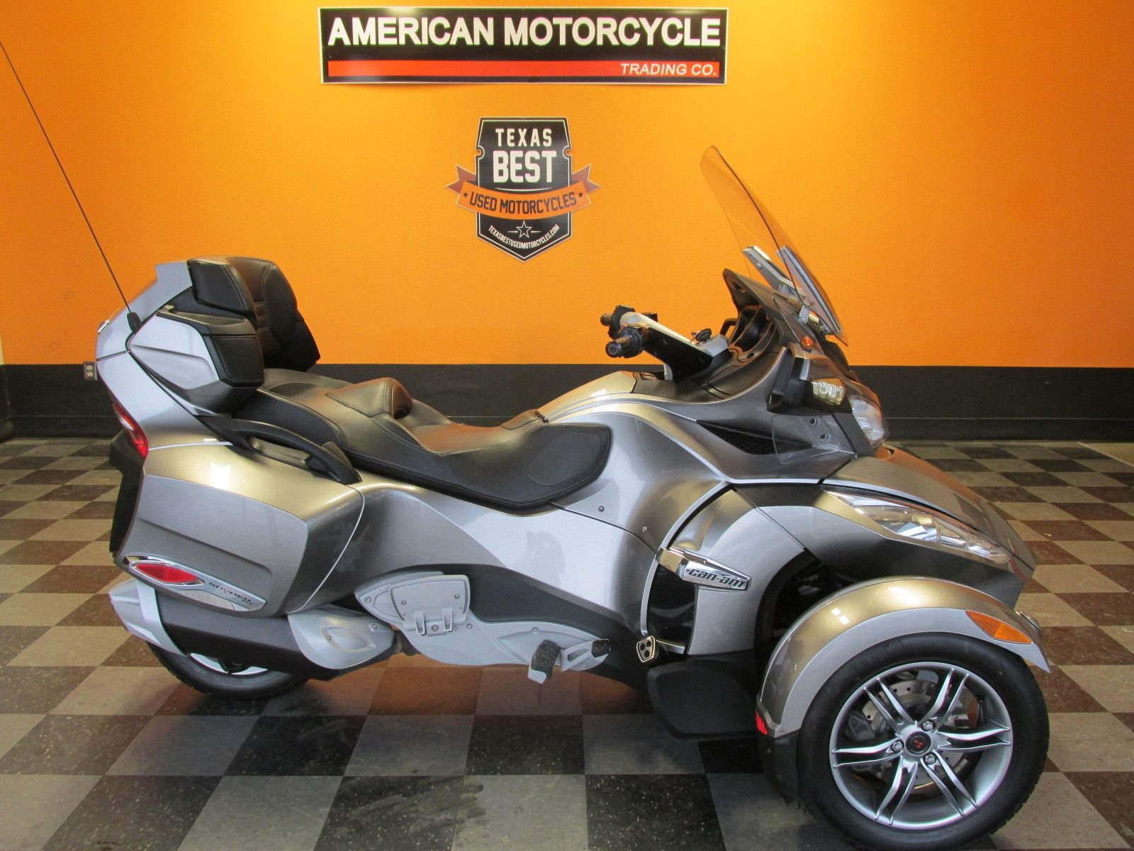 2012 can am spyder rt s sm5
