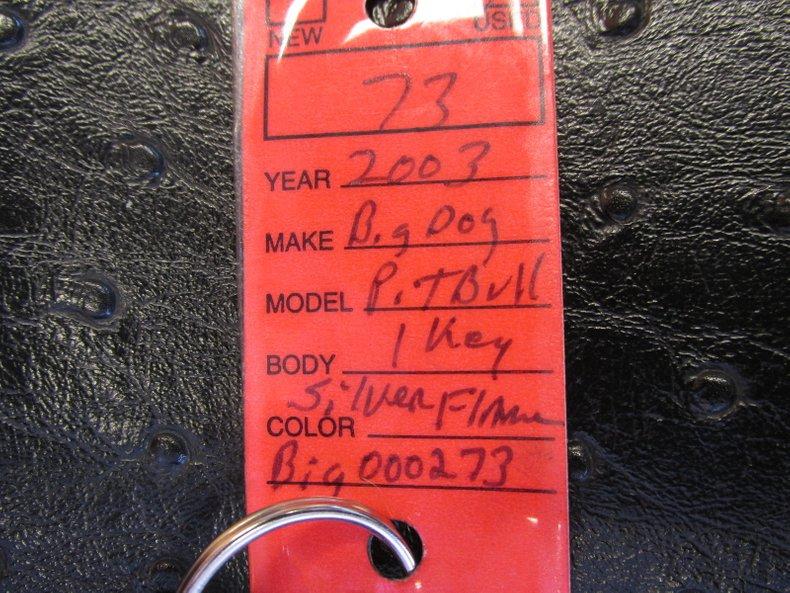 2003 Big Dog Pit Bull
