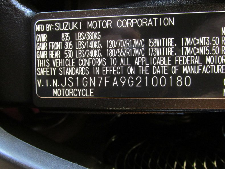 2016 Suzuki GSX-R
