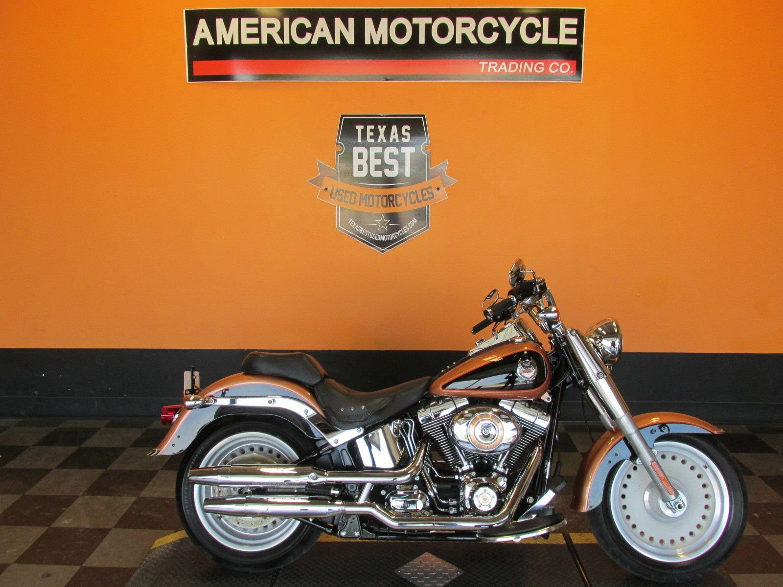 2008 harley davidson softail fat boy flstf 105th anniversary