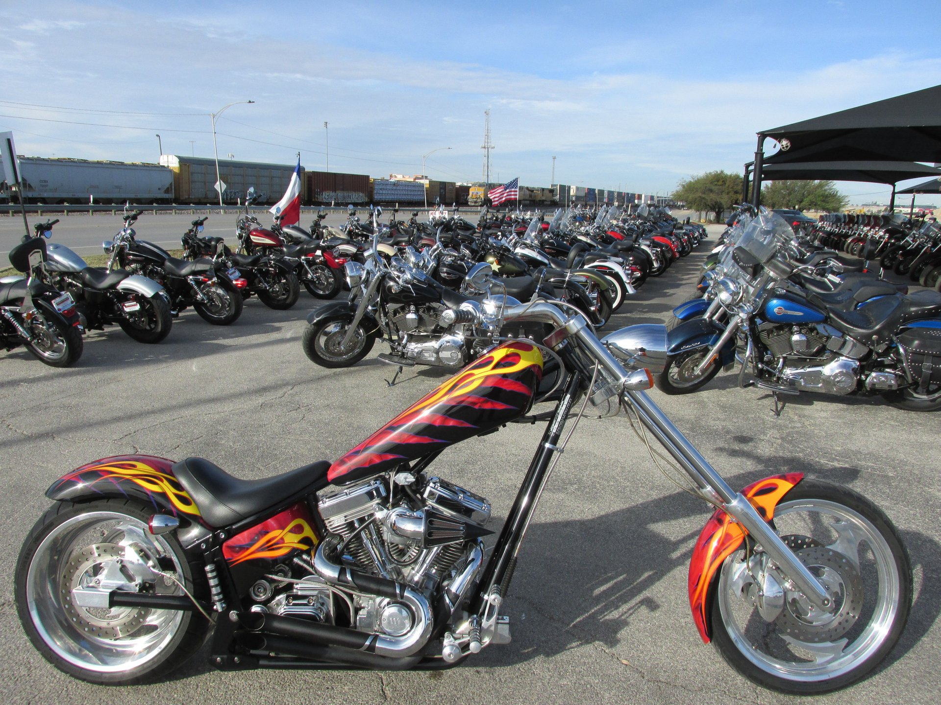 2004 american ironhorse texas chopper
