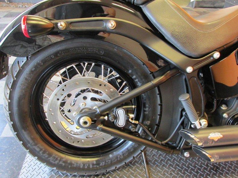 2012 Harley-Davidson Softail Blackline