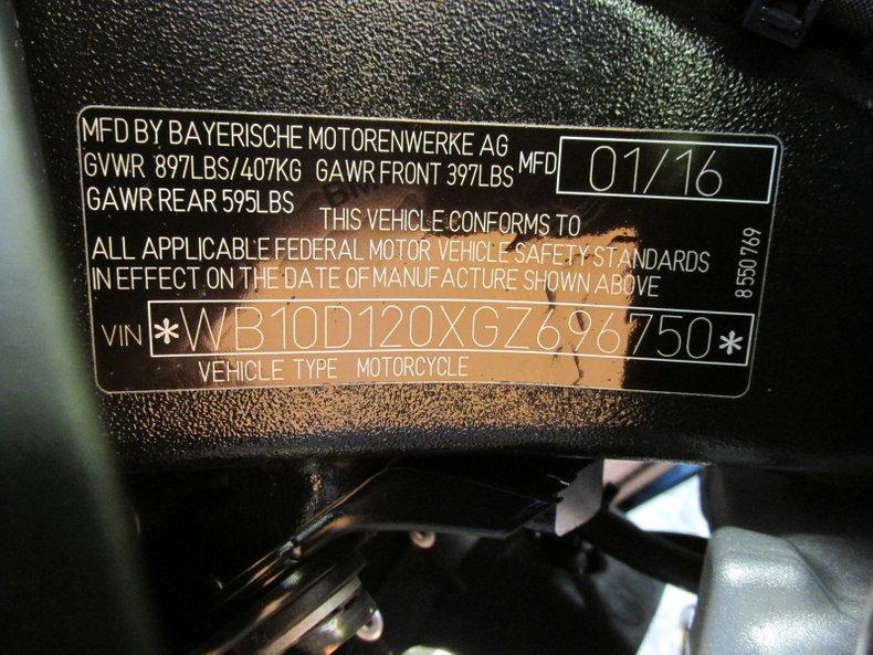 2016 BMW S1000R