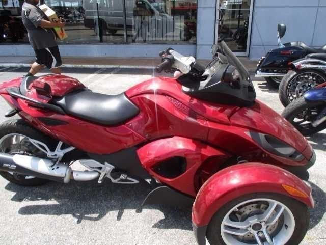 2012 can am spyder rs se5