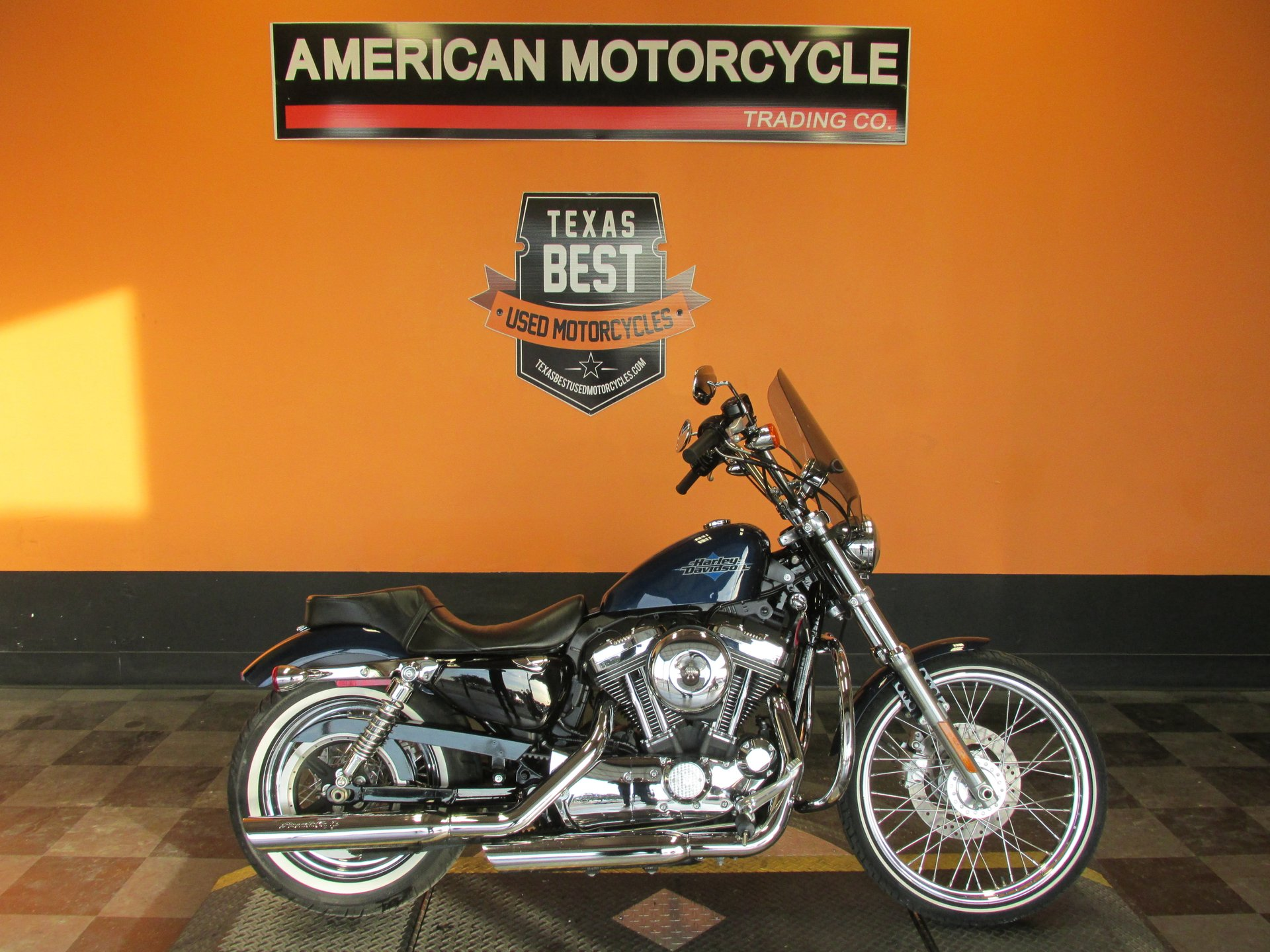 2012 Harley Davidson Sportster 1200 American Motorcycle Trading Company Used Harley Davidson Motorcycles