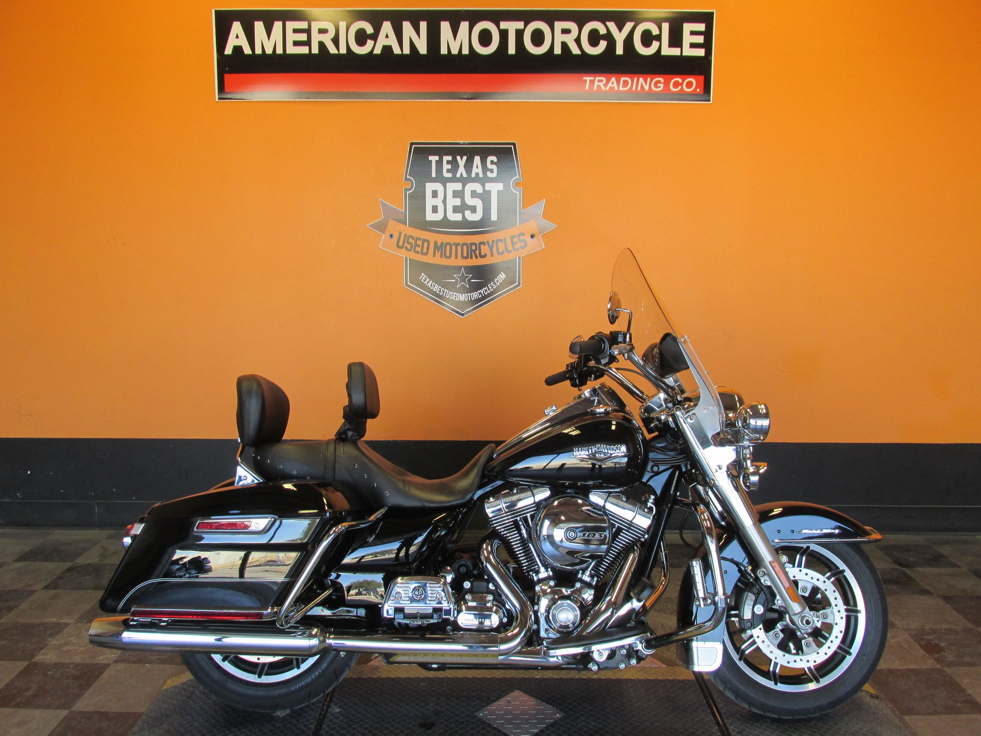 2014 harley davidson road king flhr