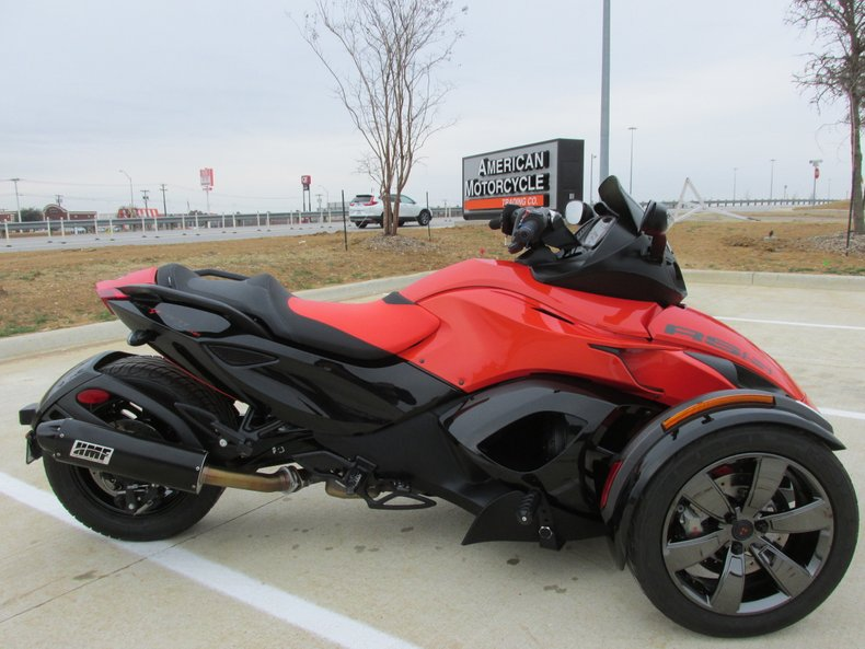 Can Am Spyder For Sale >> 2016 Can Am Spyder Rss Se5 For Sale 75927 Mcg