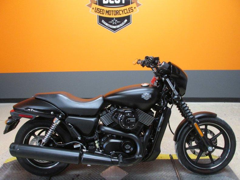 2015 Harley-Davidson Street 750 For Sale
