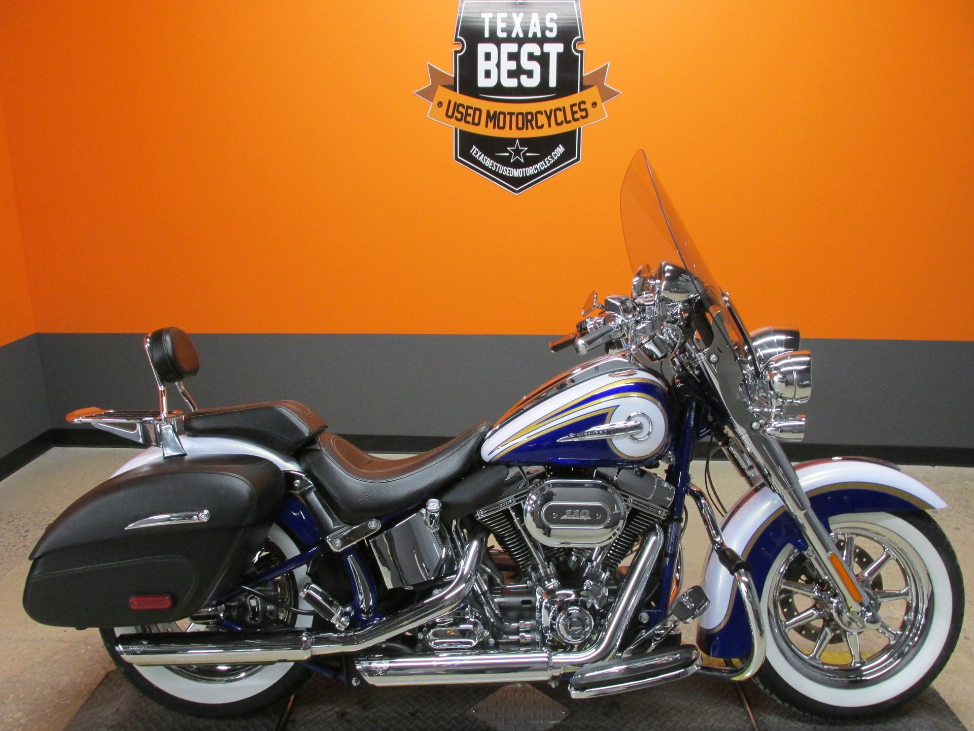 2014 Harley Davidson Cvo Softail Deluxe American Motorcycle Trading Company Used Harley Davidson Motorcycles