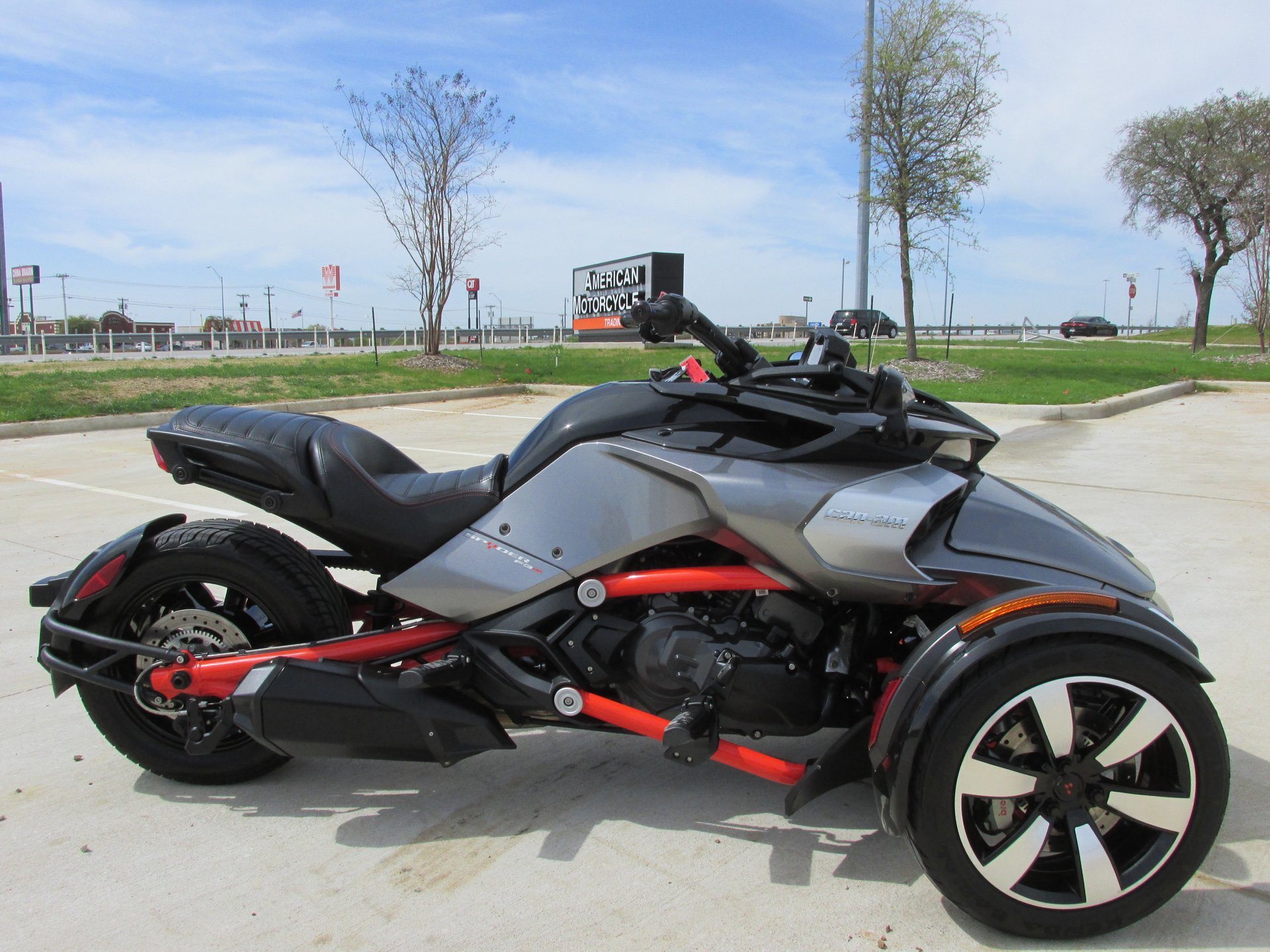 2015 can am spyder f3 s se6