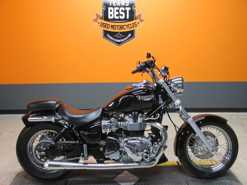 2004 Triumph Bonneville America For Sale 84928 Mcg