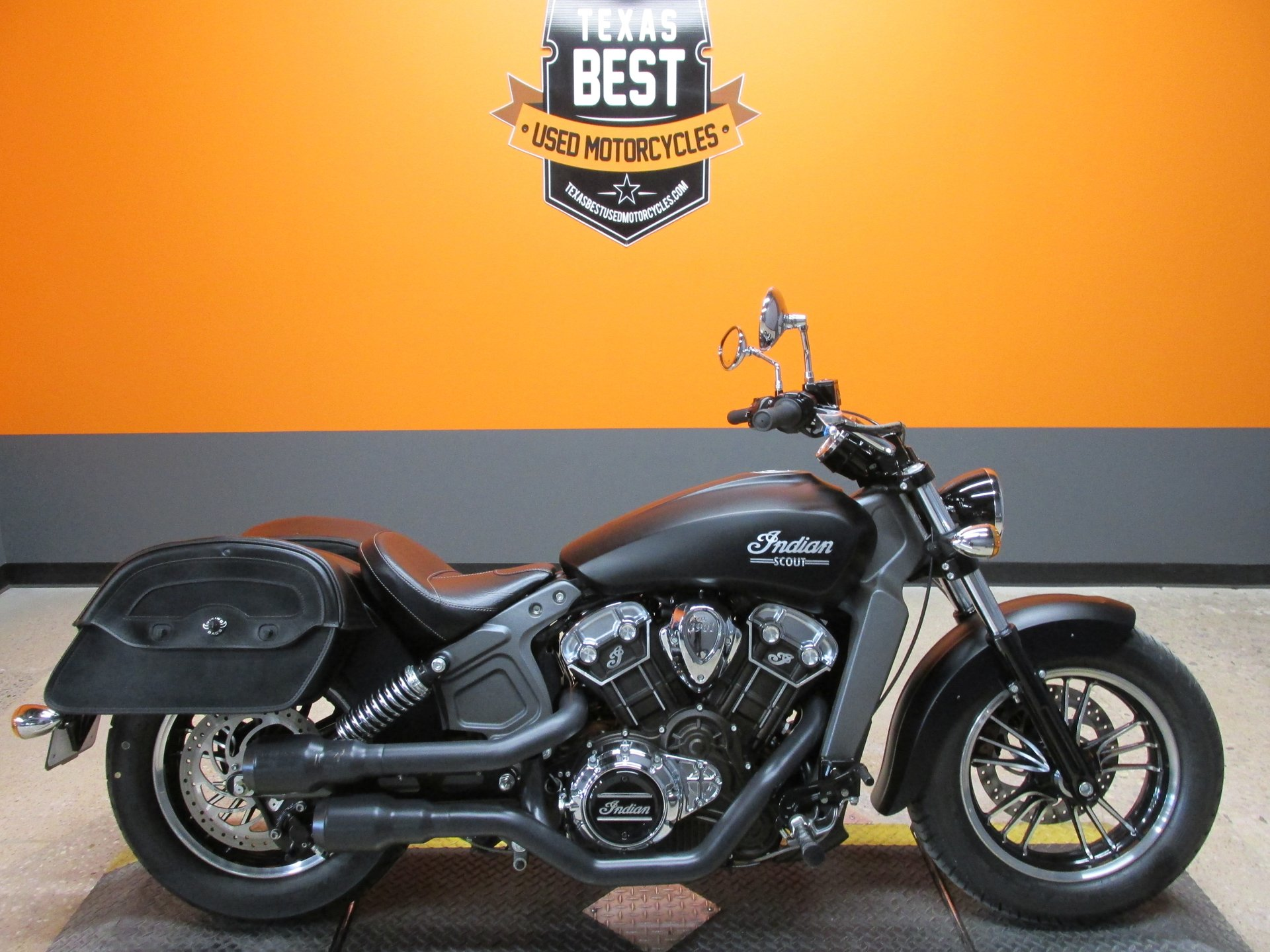 2016 indian scout black