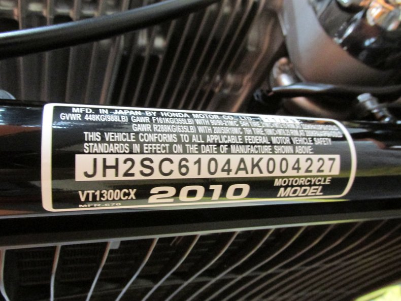 2010 Honda Fury