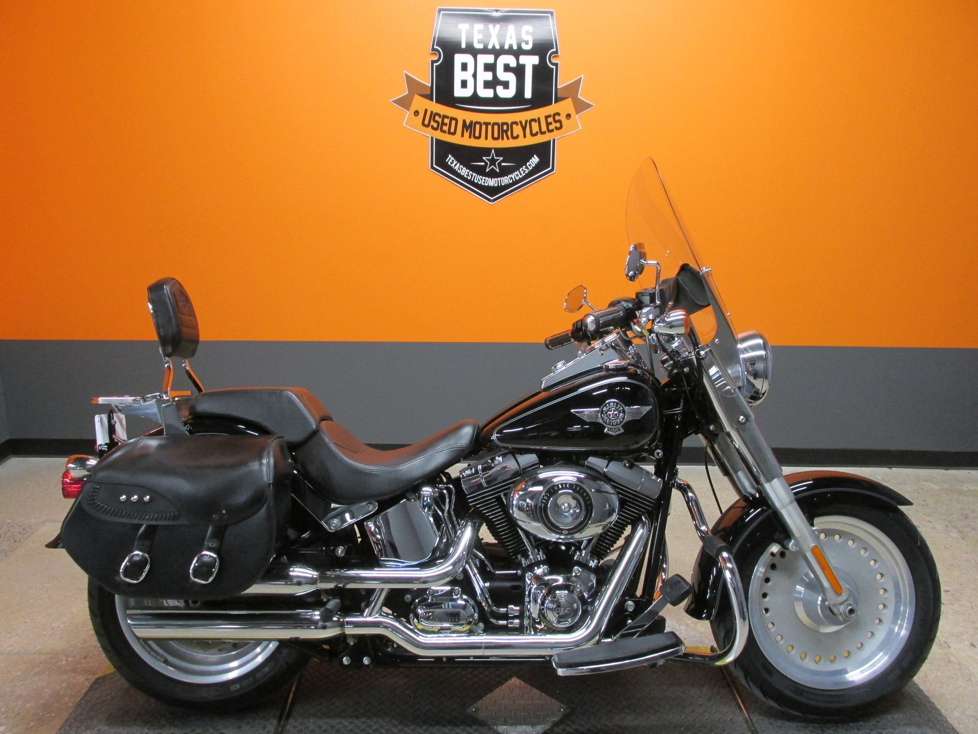 2012 harley davidson softail fat boy flstf