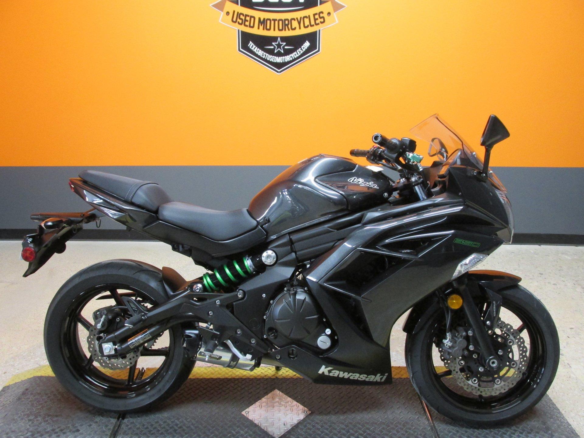 2016 kawasaki ninja 650 ex650f