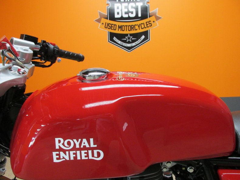 2017 Royal Enfield Continental GT Cafe Racer