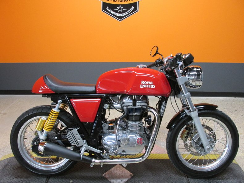 2017 Royal Enfield Continental Gt Cafe Racer For Sale 90794 Mcg