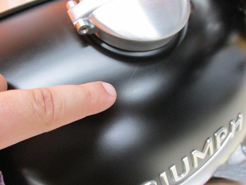 2016 Triumph Thruxton R 1200