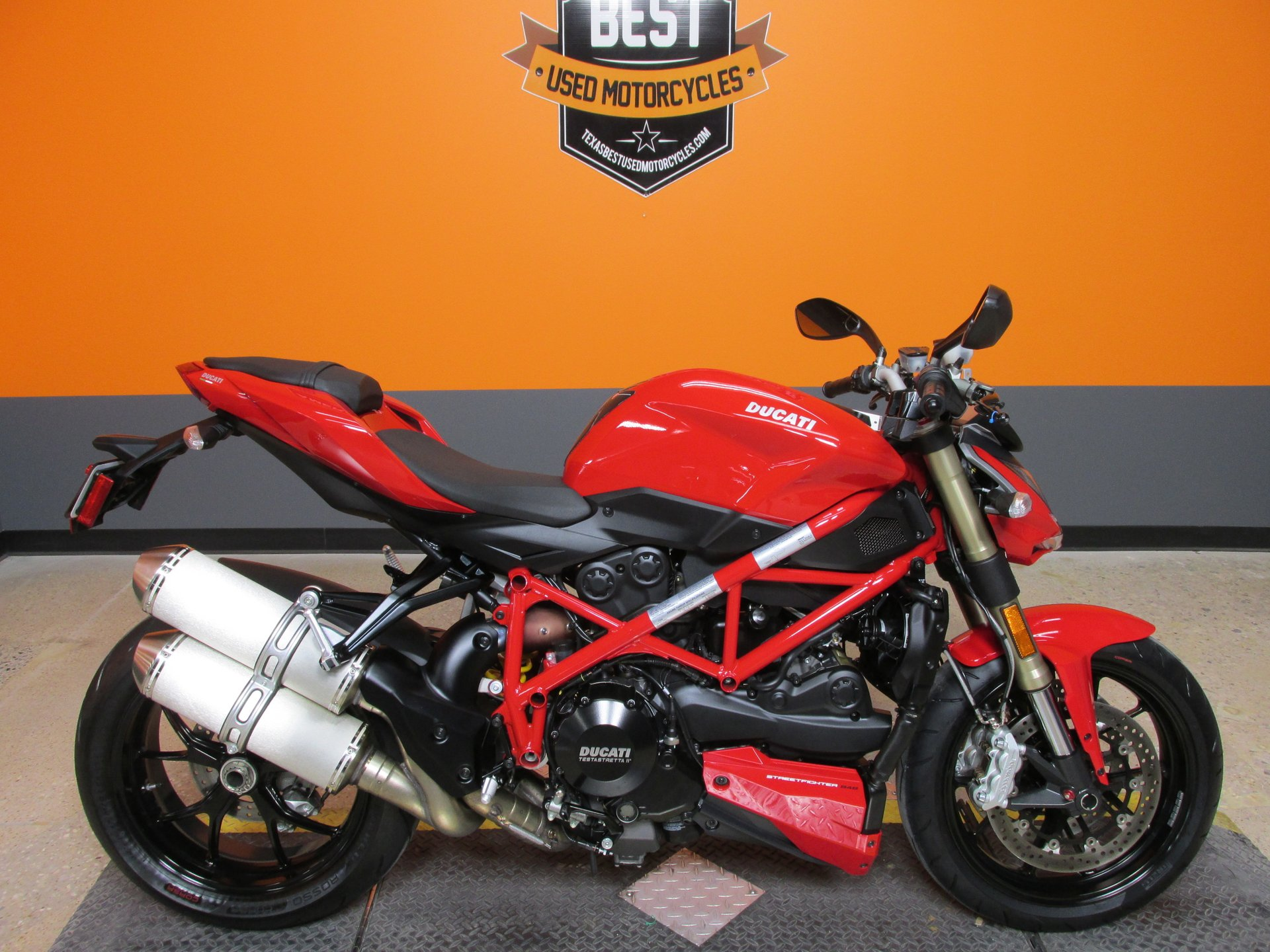 For Sale 2012 Ducati Streetfighter 848