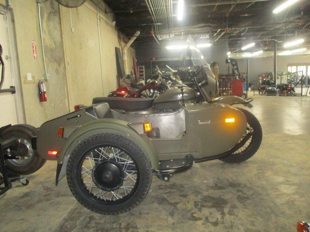 2012 ural gear up w sidecar