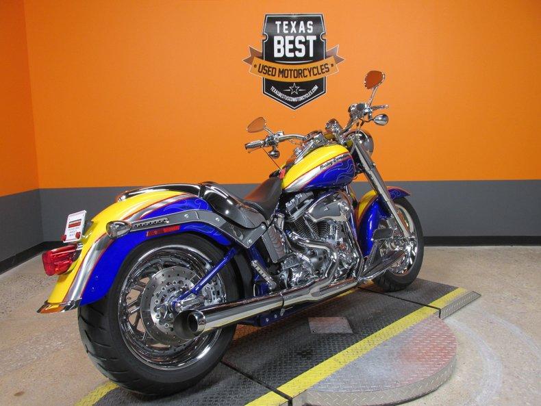 2006 Harley Davidson Flstfse2 Softail Fat Boy Screamin Eagl