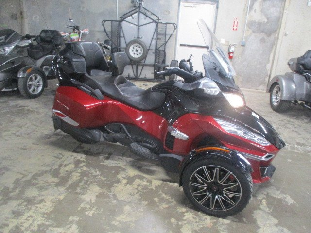 2015 can am spyder rt s se6 special