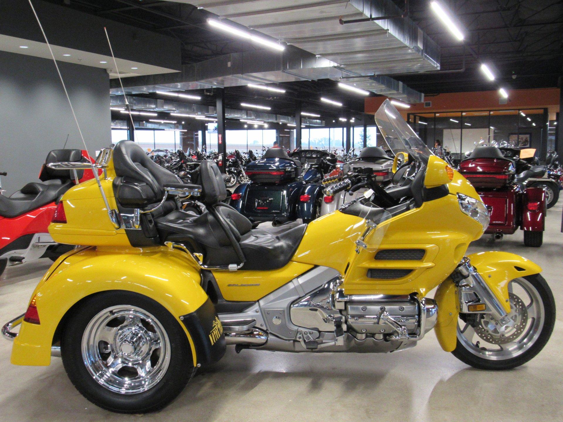 2003 honda gold wing trike gl18003 w motor trike conversion