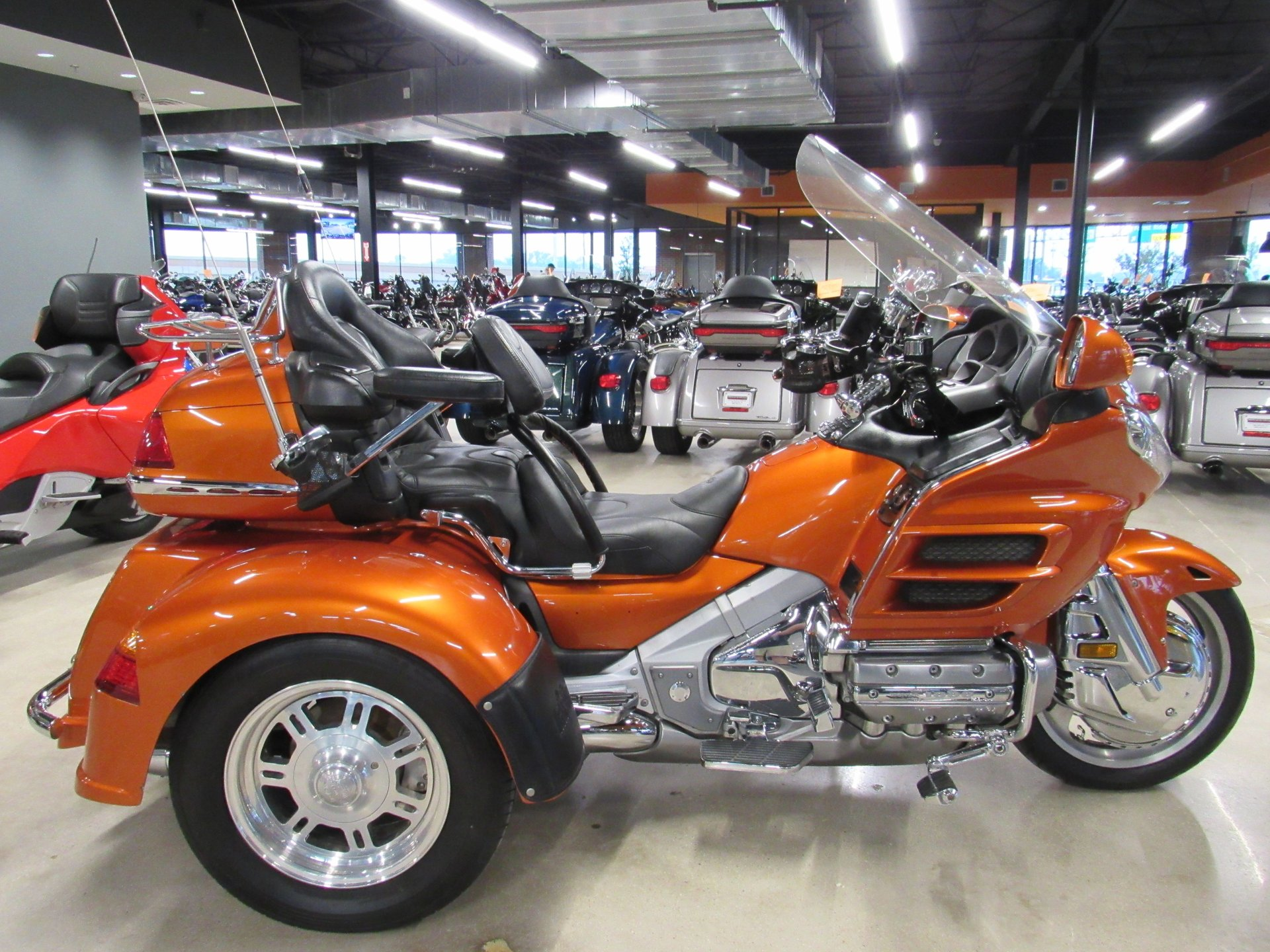 2002 honda gold wing trike gl18002 w motortrike conversion
