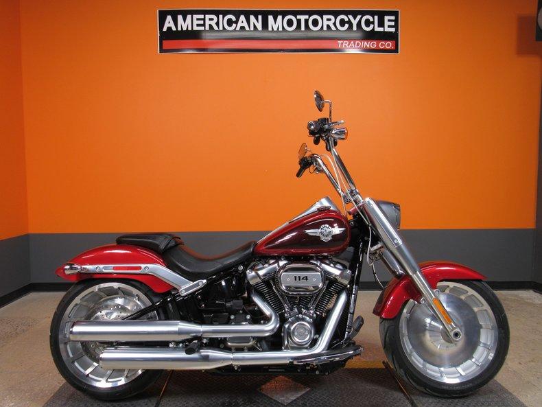 2018 Harley-Davidson Softail Fat BoyAmerican Motorcycle
