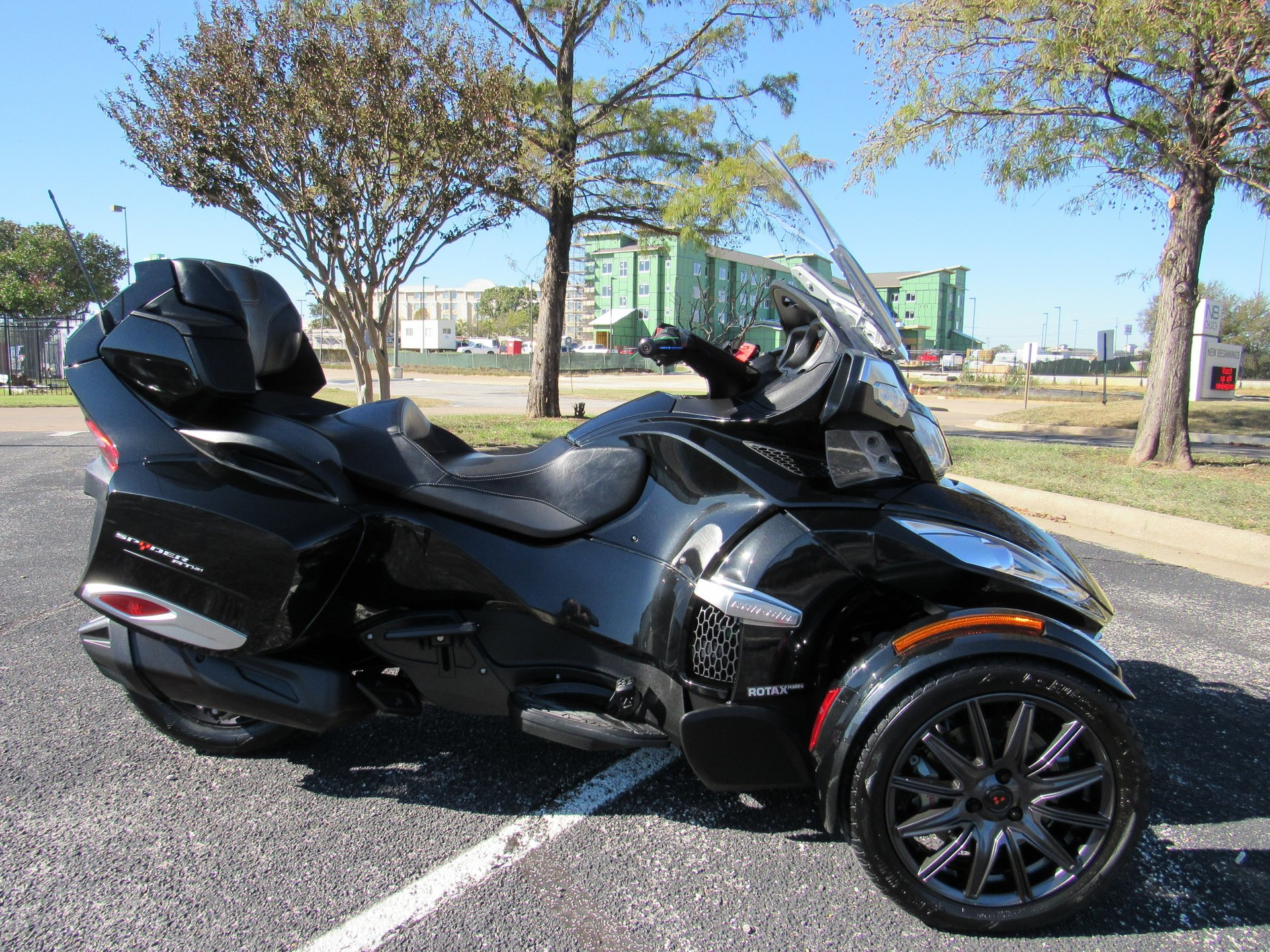 2014 can am spyder rt s se6
