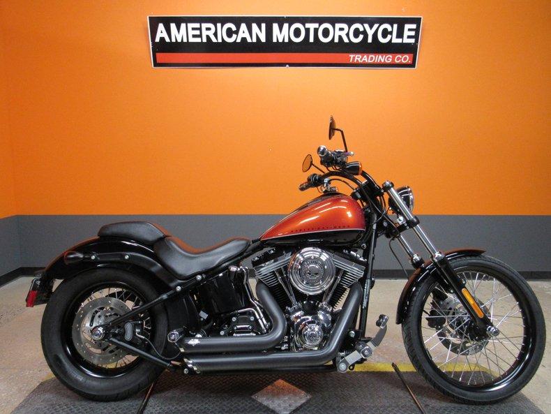 2011 Harley-Davidson Softail Blackline For Sale