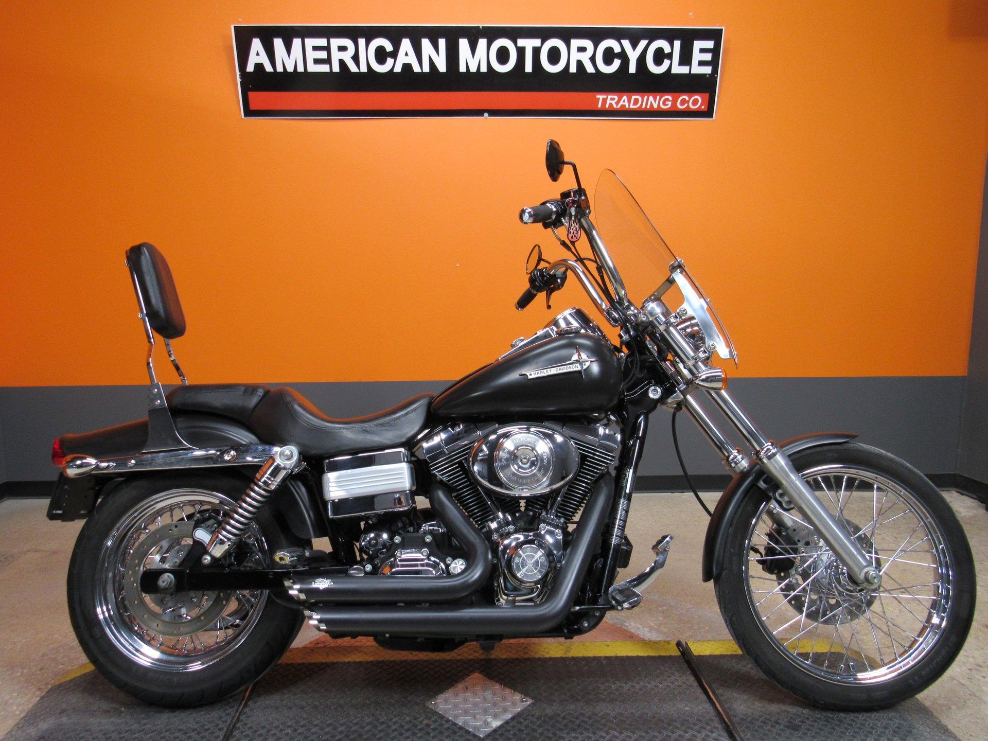 2006 Harley Davidson Dyna Wide Glide American Motorcycle Trading Company Used Harley Davidson Motorcycles