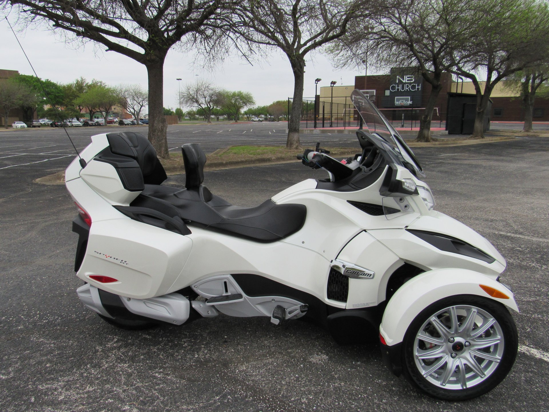2014 can am spyder rt se6