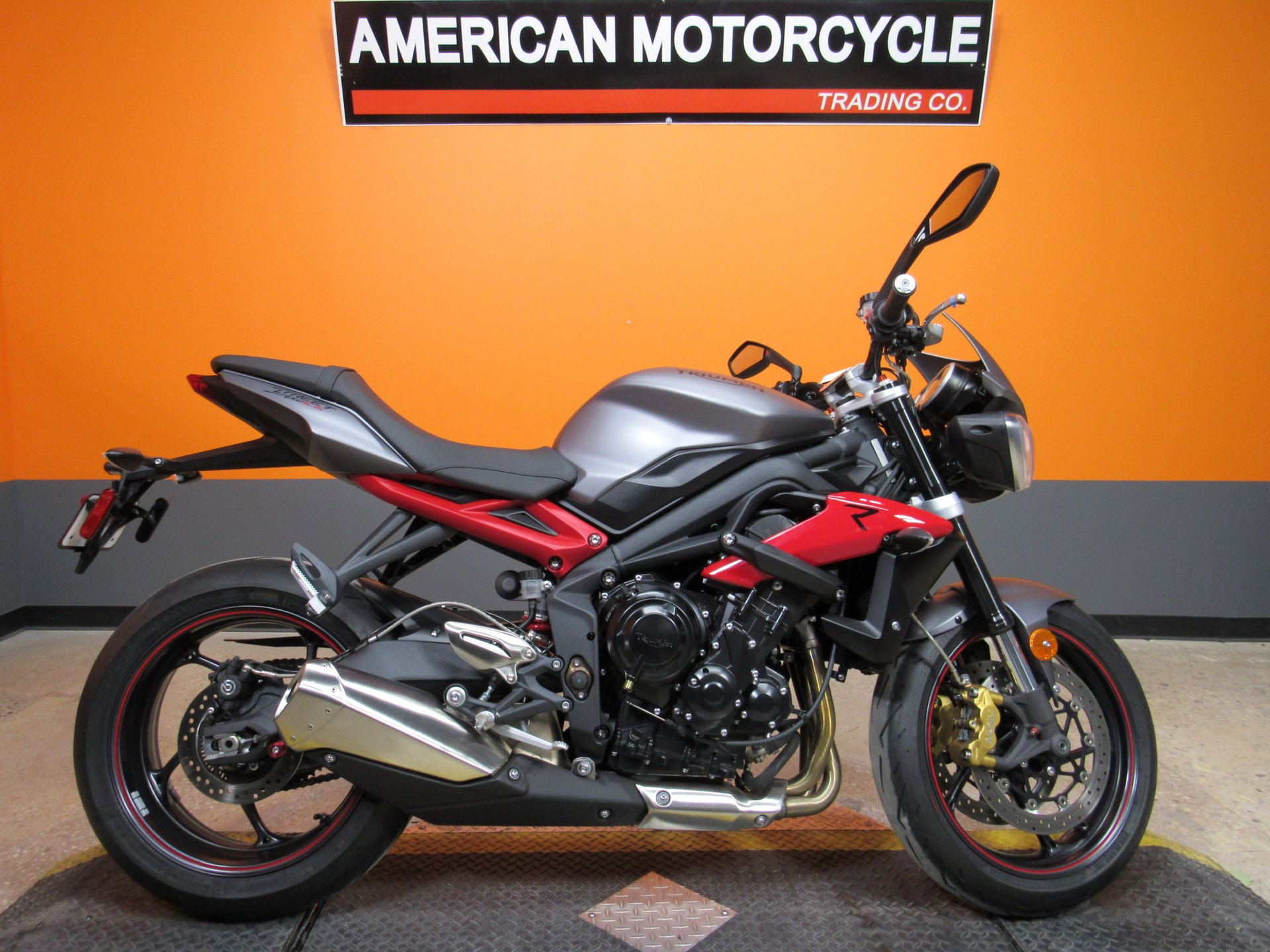 For Sale 2016 Triumph Street Triple R - ABS