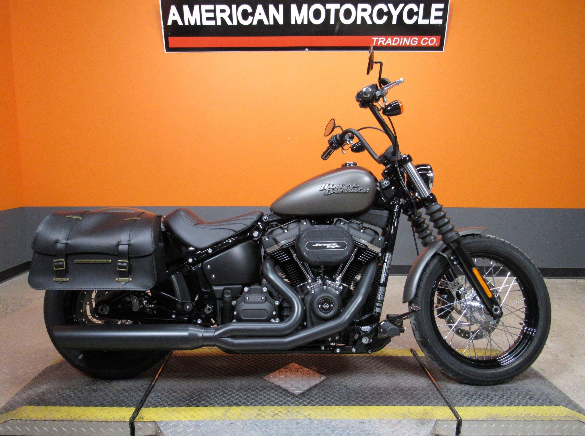 2018 Harley Davidson Softail Street Bob American Motorcycle Trading Company Used Harley Davidson Motorcycles
