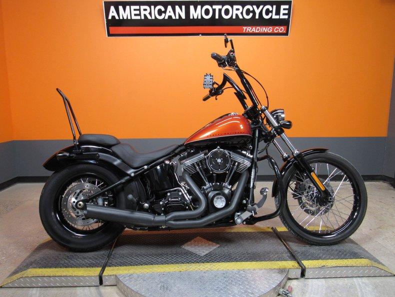 2011 Harley-Davidson Softail Blackline