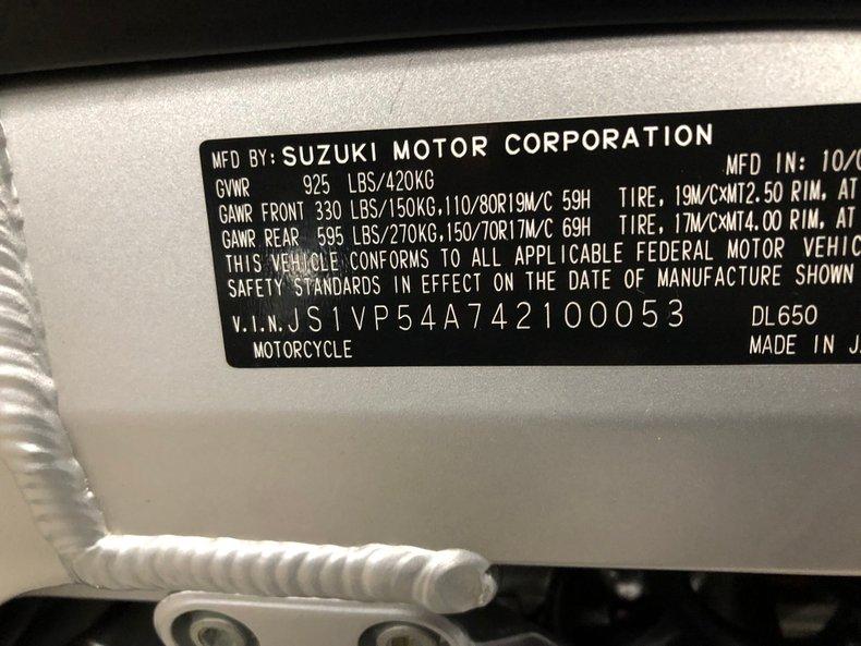 2004 Suzuki V-Strom
