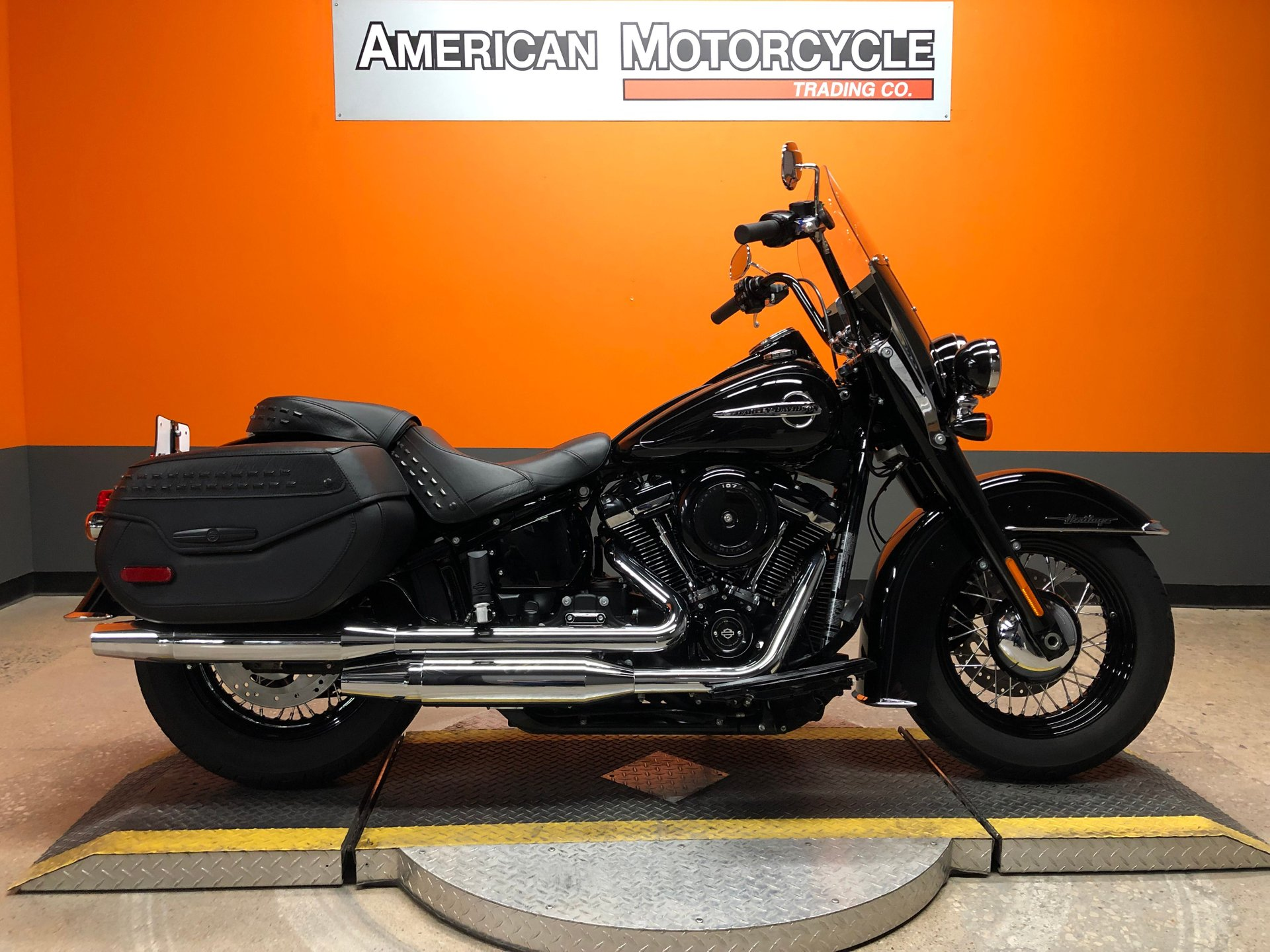 2018 harley davidson softail heritage classic flhc