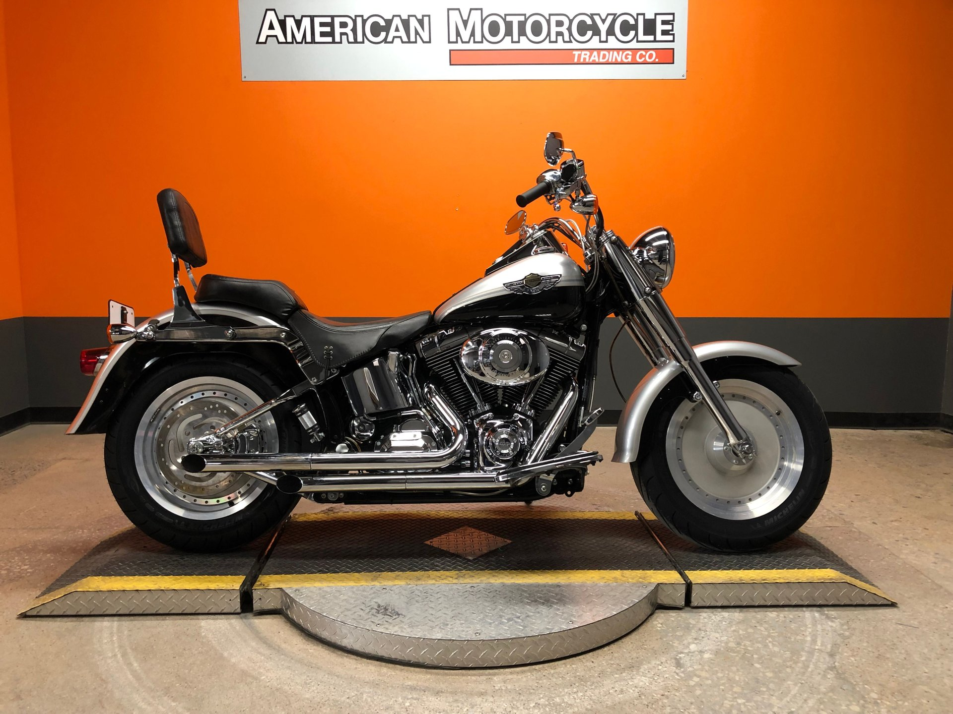 2003 harley davidson softail fat boy flstfi 100th anniversary