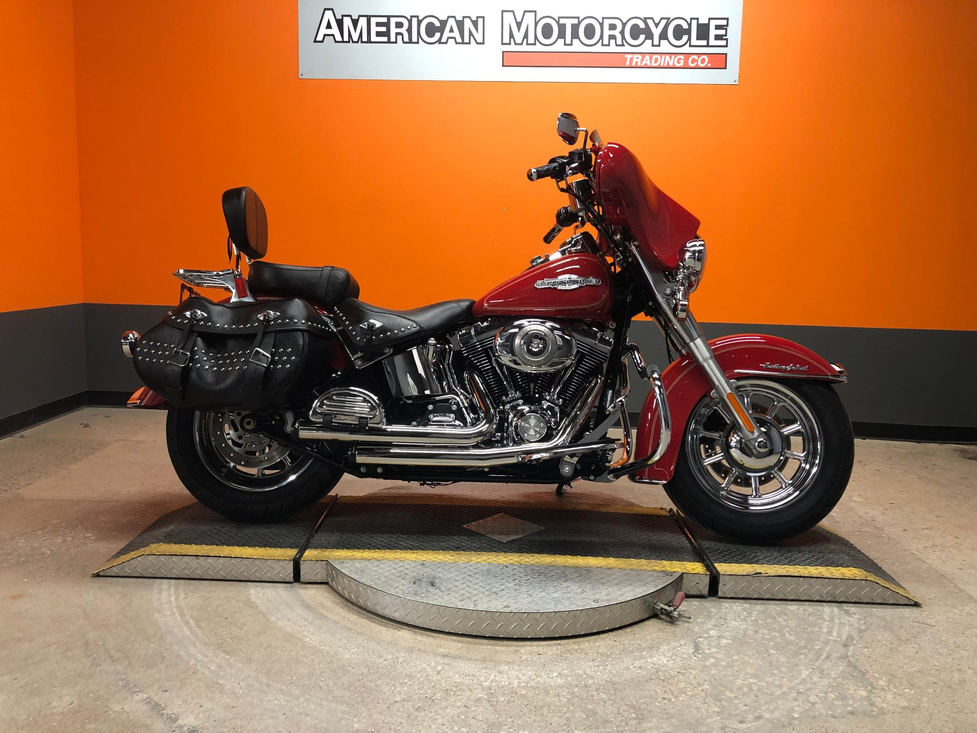 2010 harley davidson softail heritage classic flstc firefighter special edition