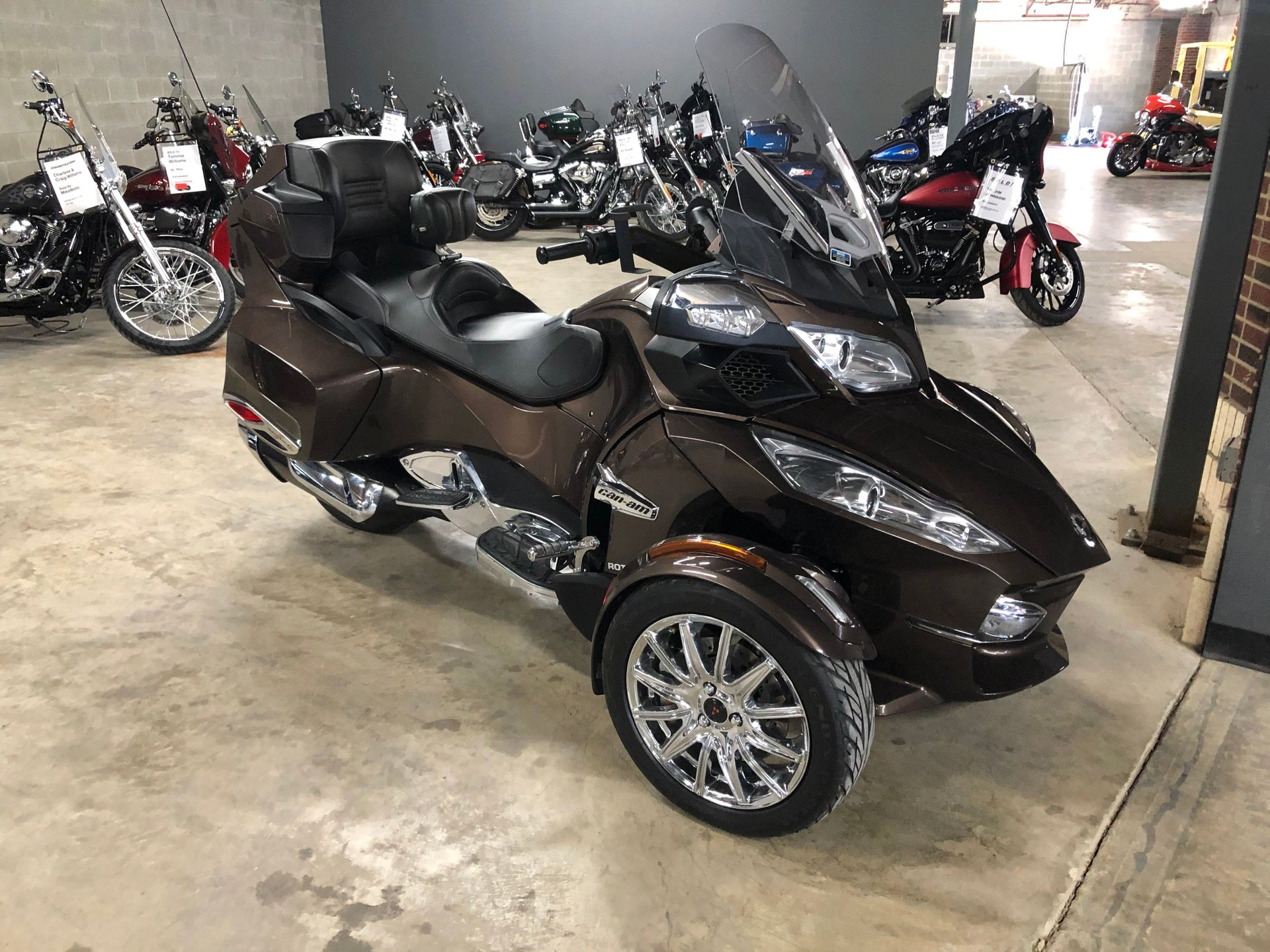 2013 can am spyder rt se5 limited trike