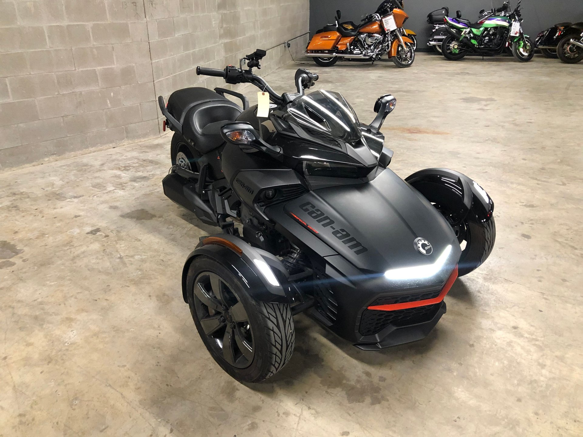 2016 can am spyder f3 s se6 special series trike