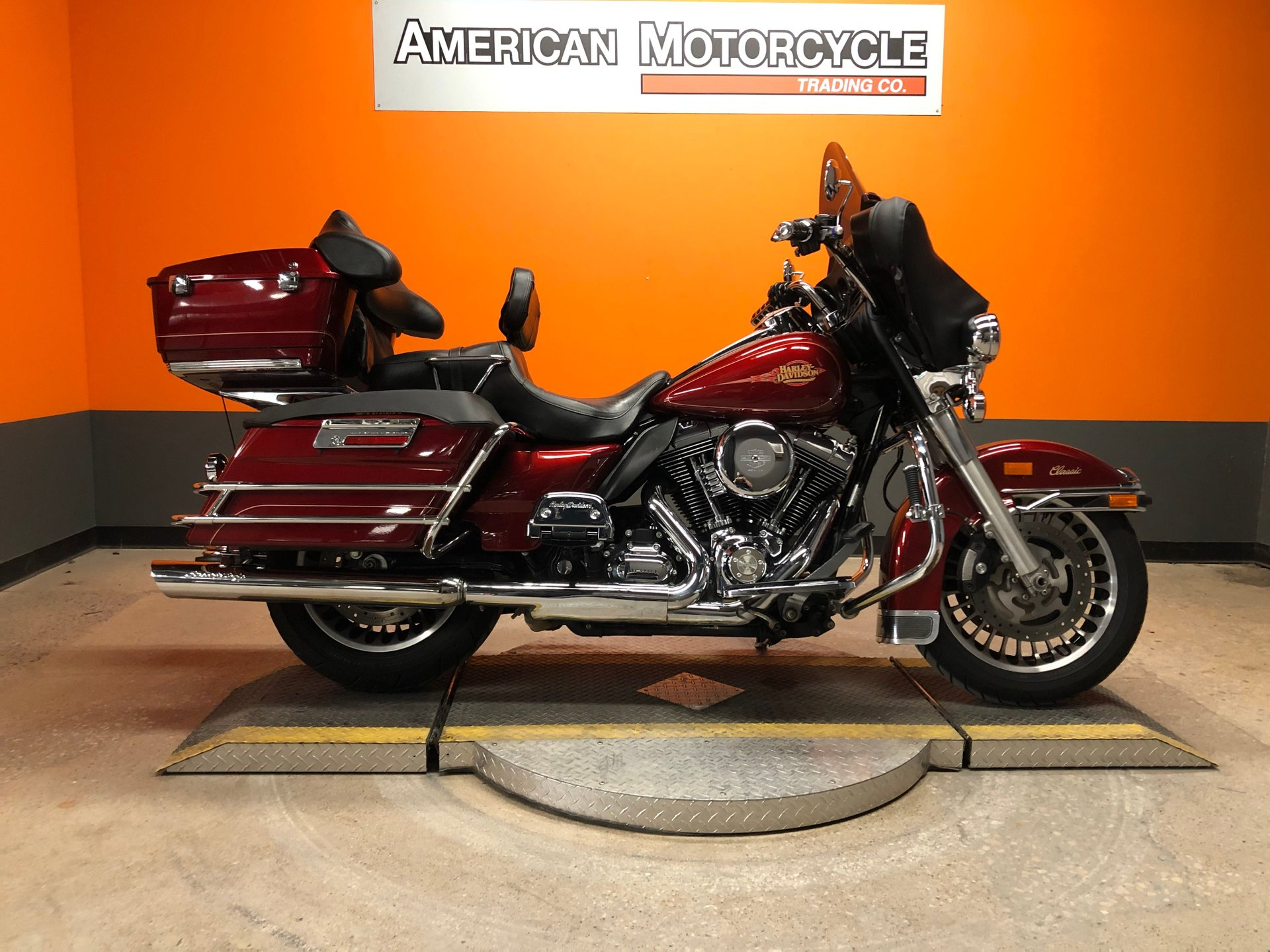 2009 harley davidson electra glide classic flhtc