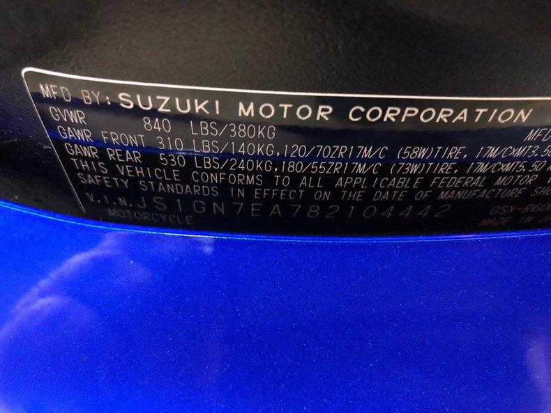 2008 Suzuki GSX-R600