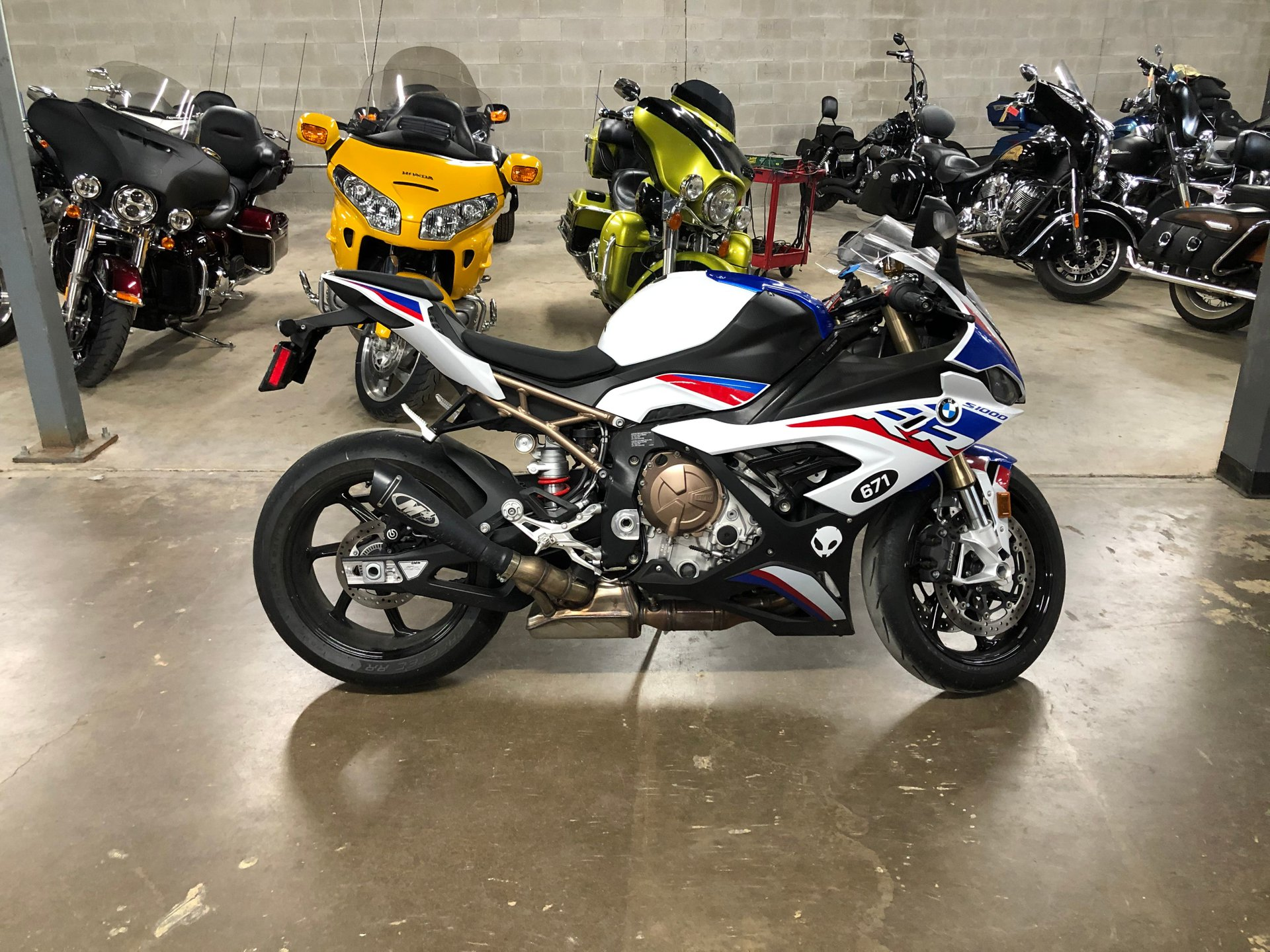 2020 bmw s1000rr m package